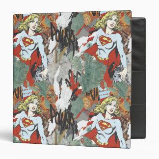 Supergirl Comic Capers Pattern 8 Binders
