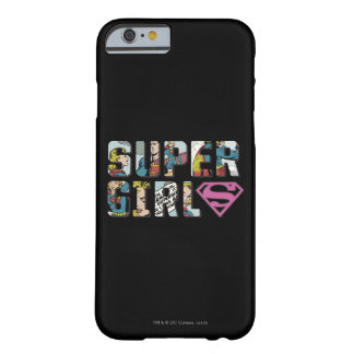 Supergirl Comic Logo Barely There iPhone 6 Case