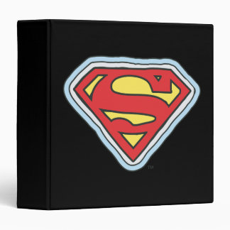 Supergirl Comic Logo Binders