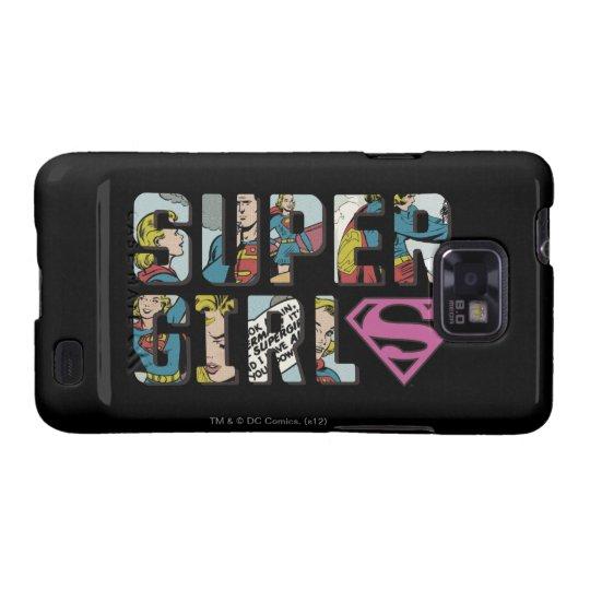 Supergirl Comic Logo Galaxy S2 Cover
