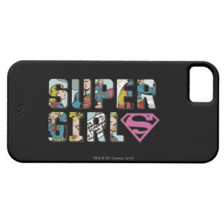 Supergirl Comic Logo iPhone SE/5/5s Case