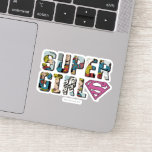 Supergirl Comic Logo Sticker
