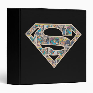 Supergirl Comic Strip Logo Binder