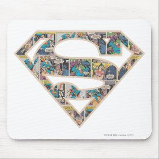 Supergirl Comic Strip Logo Mouse Pad