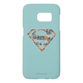 Supergirl Comic Strip Logo Samsung Galaxy S7 Case