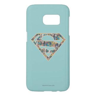 Supergirl Comic Strip Logo Samsung Galaxy S7 Case
