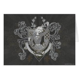 Supergirl Crest Card
