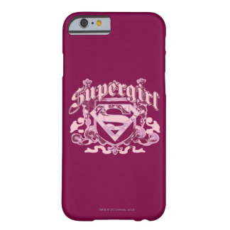 Supergirl Crest Design Barely There iPhone 6 Case