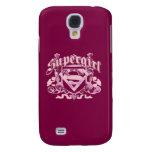 Supergirl Crest Design Samsung Galaxy S4 Case