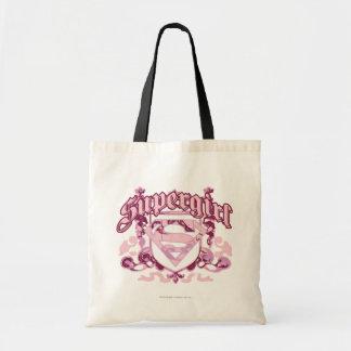 Supergirl Crest Design Tote Bag