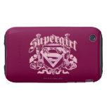 Supergirl Crest Design Tough iPhone 3 Covers
