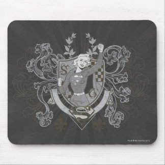 Supergirl Crest Mouse Pad