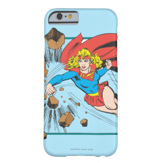 Supergirl Destroys Boulder Barely There iPhone 6 Case