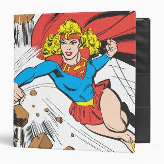 Supergirl Destroys Boulder Binder