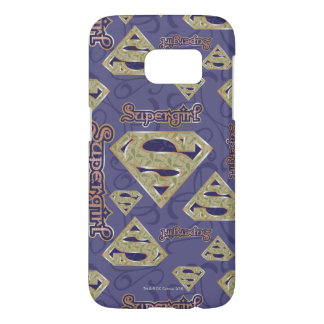 Supergirl Fancy Logo Collage Samsung Galaxy S7 Case