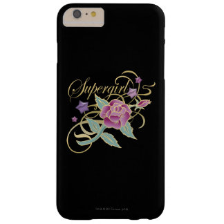 Supergirl Fancy Roses Barely There iPhone 6 Plus Case