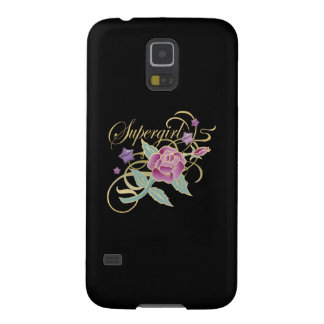 Supergirl Fancy Roses Galaxy S5 Cover
