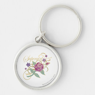 Supergirl Fancy Roses Keychain