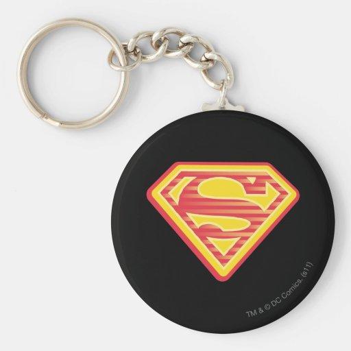 Supergirl Far-Out Logo Keychains