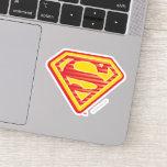 Supergirl Far-Out Logo Sticker