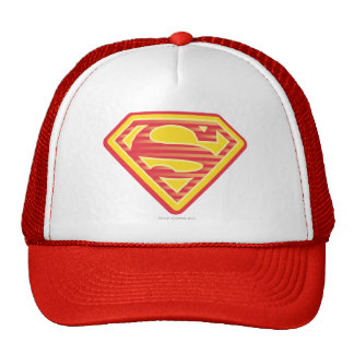 Supergirl Far-Out Logo Trucker Hat