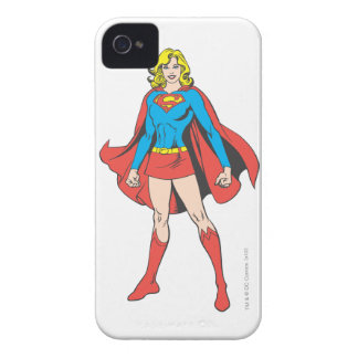 Supergirl Fight Stands iPhone 4 Case
