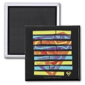 Supergirl Filmstrip Fridge Magnets