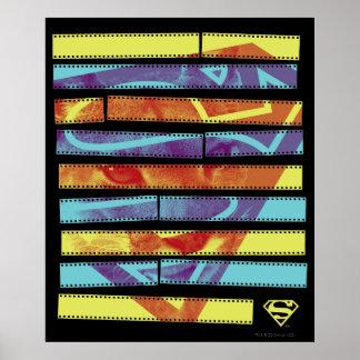Supergirl Filmstrip Poster