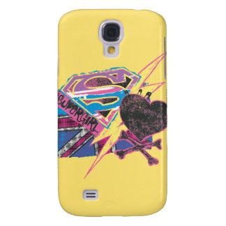 Supergirl Flag and Crossbones Samsung S4 Case
