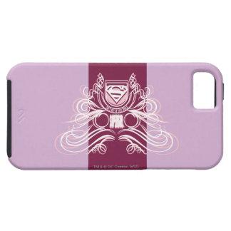 Supergirl Flourish Design iPhone SE/5/5s Case