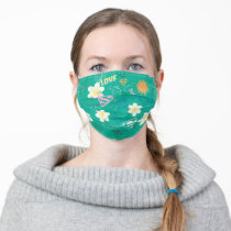 Supergirl for Peace Pattern Adult Cloth Face Mask