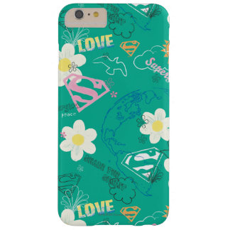 Supergirl for Peace Pattern Barely There iPhone 6 Plus Case