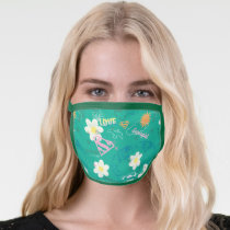 Supergirl for Peace Pattern Face Mask