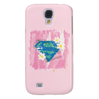 Supergirl for Peace Pink Samsung Galaxy S4 Cover