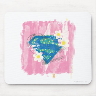 Supergirl for Peace Pink Mouse Pad
