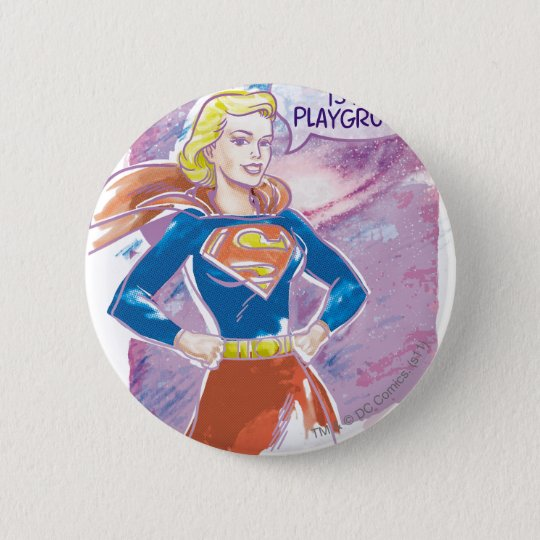 Supergirl Galaxy Button