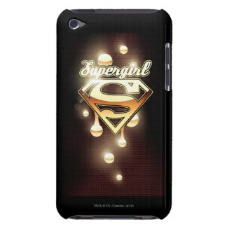 Supergirl Gold Drips iPod Touch Cover