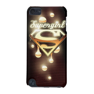 Supergirl Gold Drips iPod Touch 5G Cover