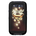 Supergirl Gold Drips Samsung Galaxy S3 Cover