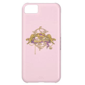 Supergirl Golden Cat 2 iPhone 5C Cases