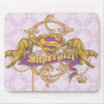 Supergirl Golden Cat 3 Mouse Pad