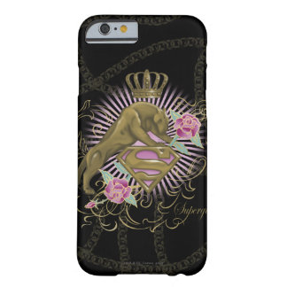 Supergirl Golden Cat 4 Barely There iPhone 6 Case