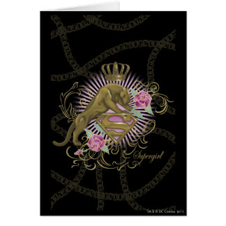 Supergirl Golden Cat 4 Card