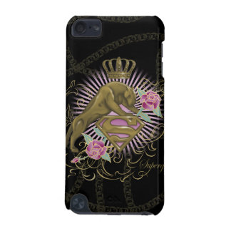 Supergirl Golden Cat 4 iPod Touch (5th Generation) Cases