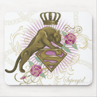 Supergirl Golden Cat 4 Mouse Pad