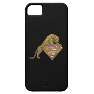 Supergirl Golden Cat iPhone 5 Cover