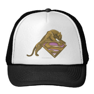 Supergirl Golden Cat Trucker Hat