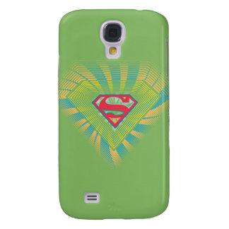 Supergirl Groovy Logo 2 Samsung Galaxy S4 Cover