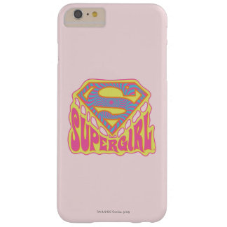 Supergirl Groovy Logo Barely There iPhone 6 Plus Case
