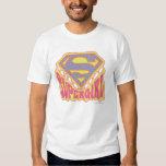 Supergirl Groovy Logo T-Shirt
